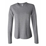 Bella | L/S Bella Women's 5 oz. Cotton Crew Neck J