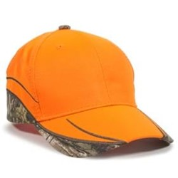 Outdoor Cap | Outdoor Cap Blaze w/ Camo Inserts on Cap