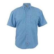 Blue Pointe | Short Sleeve Denim Shirt