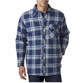 Backpacker Flannel Shirt Jacket w/Quilt Lining