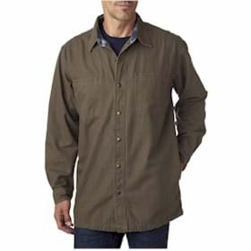 Backpacker Canvas Shirt Jacket w/Flannel Lining