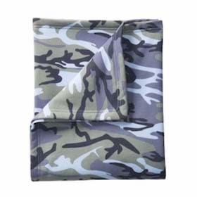 Port & Company Core Fleece Camo Sweatshirt Blanket