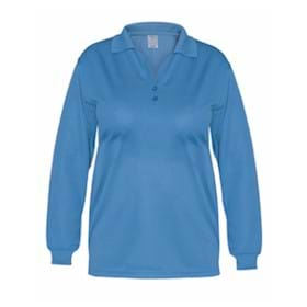 Blue Pointe LADIES' L/S Performance Polo Shirt