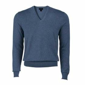Brooks Brothers L/S 346 Cotton V-Neck Sweater