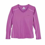 Columbia | Columbia L/S LADIES' Zero Rules V-Neck Tee