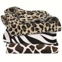 Carmel | Carmel Animal Print Velour Beach Towel