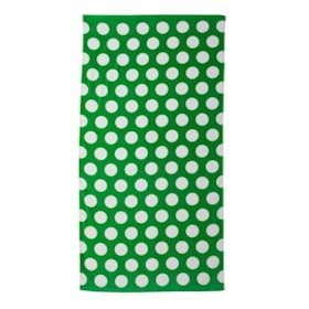 Carmel Polka Dot Velour Beach Towel