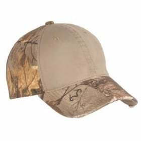 Port Authority Camo Cap w/ Contrast Front Panel