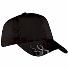 Port Authority | Racing Cap with Flames