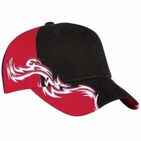 Port Auth. Racing Cap with Flames
