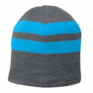 Port Authority | Port & Company® Fleece-Lined Striped Beanie Cap