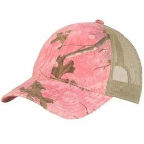 Port Authority Unstructured Camo Mesh Back Cap