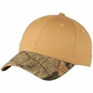 Port Authority | Port Authority Twill Cap with Camouflage Brim