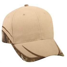 Outdoor Cap Cotton Twill with Camo Accents Cap