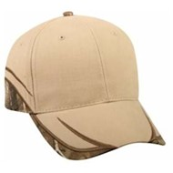 Outdoor Cap | Outdoor Cap Cotton Twill with Camo Accents Cap