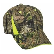 Outdoor Cap | Camo Cap with Blaze Inserts