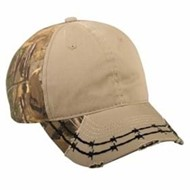Outdoor Cap | Outdoor Cap Camo Barb Wire Design Stitch Cap