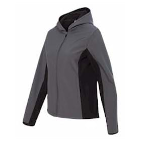 Colorado Clothing LADIES' Hooded Soft Shell Jacket