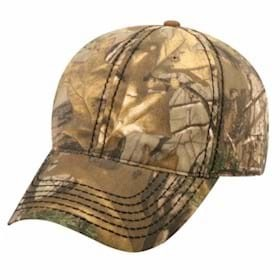 Outdoor Cap Camo w/ Heavy Construction Stitch Cap