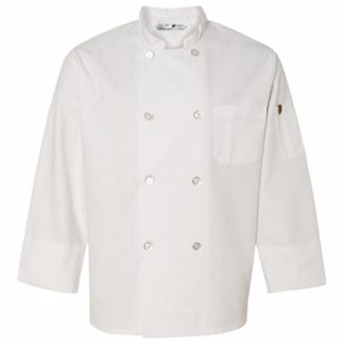 Chef Designs Chef Coat w/ Thermometer Pocket