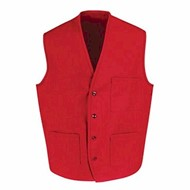 Chef Designs | Chef Designs V-neck Button Front Vest
