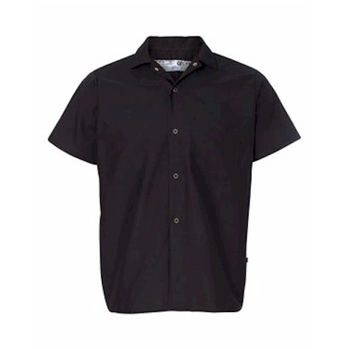Chef Designs Poplin Cook Shirt w/ Gripper Closures