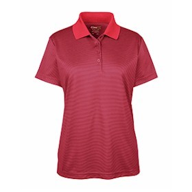 Core365 Ladies' Microstripe Piqué Polo
