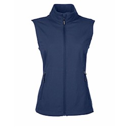 CORE365 | Core365 Ladies' Cruise 2-Layer Soft Shell Vest