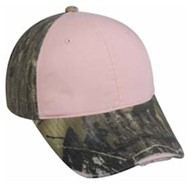 Outdoor Cap | Outdoor Cap Frayed Visor LADIES' Camo Cap