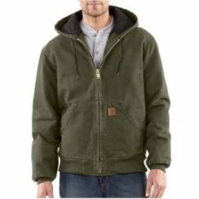 Carhartt Sandstone Active Jacket/Flannel Lined