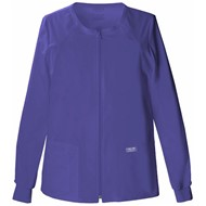 Cherokee | Cherokee Stretch Zip Front Warm-Up Jacket