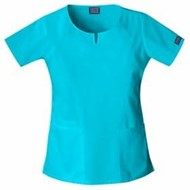 Cherokee | LADIES' Round Neck Scrub Top