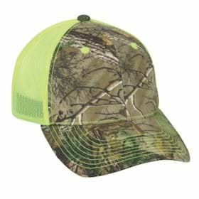 Outdoor Cap Structured Mesh Back Cap