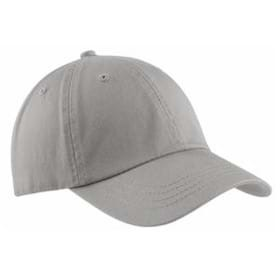 Port & Co Washed Twill Cap