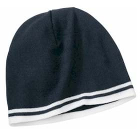 P&C Knit Skull Cap w/ Stripes