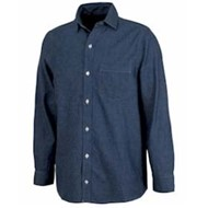 Charles River | Straight Collar Chambray Shirt