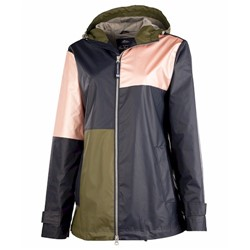 Charles River | CR Ladies COLORBLOCK NE RAIN JACKET