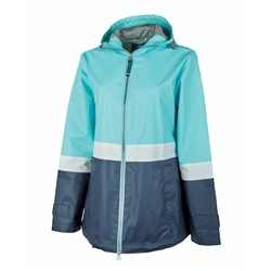 Charles River | CR Ladies COLORBLOCK NEW ENGLANDER RAIN JACKET