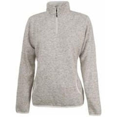 Charles River | LADIES' Heathered Fleece Pullover