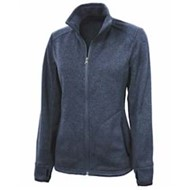 Charles River | LADIES' Heathered Fleece Jacket