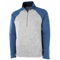 Charles River | 1/4 COLORBLOCK HEATHER FLEECE