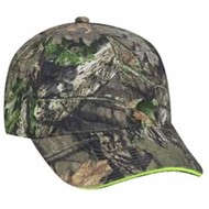 Outdoor Cap | Outdoor Cap Sandwich Visor Camo Cap