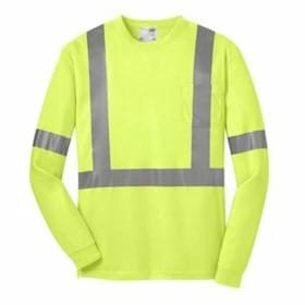 CornerStone ANSI 107 Class 2 L/S Safety T-Shirt