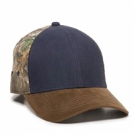 Outdoor Cap | Outdoor Cap Heavy Washed Camo Back Cap