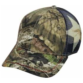 Outdoor Cap Sublimated Flag Mesh Back Cap