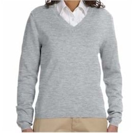 Devon & Jones | Devon & Jones Classic Women's V-Neck Sweater