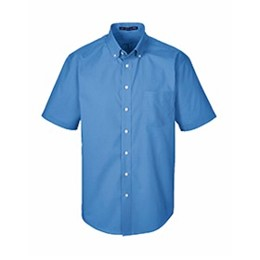 Devon & Jones | D&J Crown Woven Solid Broadcloth SS Shirt