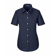 Devon & Jones | D&J Ladies' Crown Woven Broadcloth SS Shirt