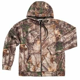 Dunbrooke Camo Trophy Tech Fleece Full Zip