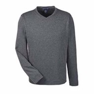 Devon & Jones | Devon & Jones Herringbone V-Neck Pullover